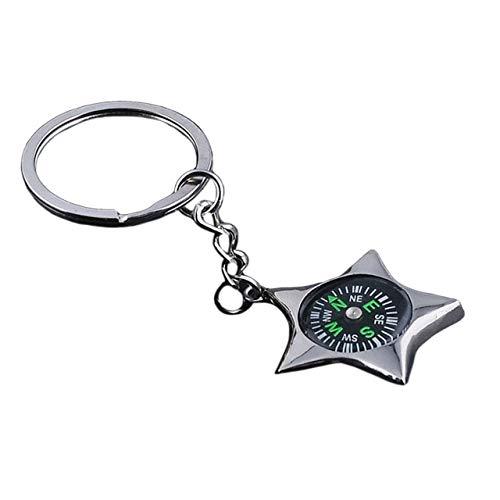 DSBN sleutelhanger vintage kompas met bier opener sleutelhanger ringen heren zilver kleur sleutelhanger autotas hanger sleutelhanger sleutelhanger geschenk sieraden groen