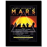 Mini-Poster 30 Seconds to Mars - UK Tour 2010, 28,5 x 21 cm