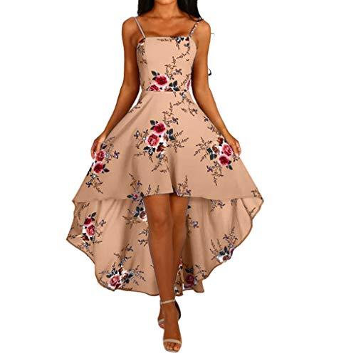 Sommer Vokuhila Kleid Kleider Sommerkleid Damen Vintage Sexy Festliche Petticoat Elegant Party Hochzeit Gothic Off Shoulder Maxi Lang A Linien Swing Abendkleid