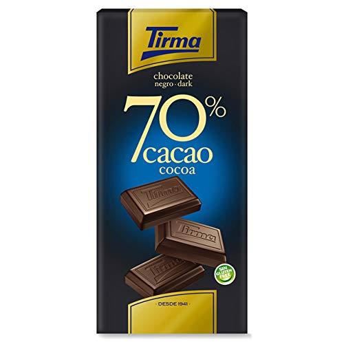 Tirma Chocolate Negro 70%, 125g