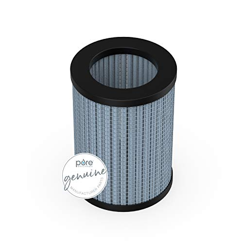 Pure Enrichment Genuine 2-in-1 True HEPA Replacement Filter for The PureZone Mini Portable Air Purifier (PEPERSAP)