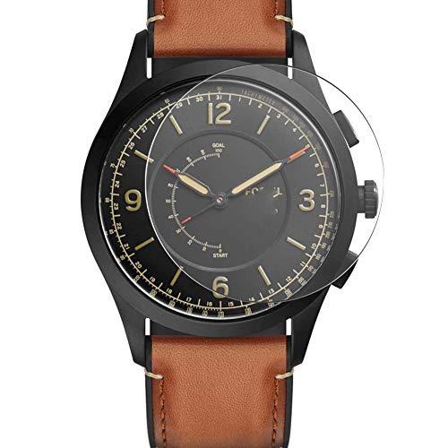 Vaxson 3 Stück Schutzfolie, kompatibel mit Fossil Q Activist 42mm Smartwatch Hybrid Watch, Bildschirmschutzfolie TPU Folie [ nicht Panzerglas ]