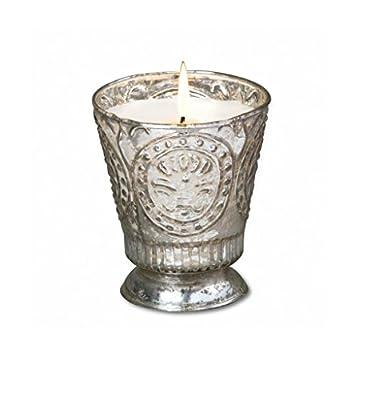 Himalayan Trading Post Fleur de Lys Soy Candle Tumbler, 8-Ounce