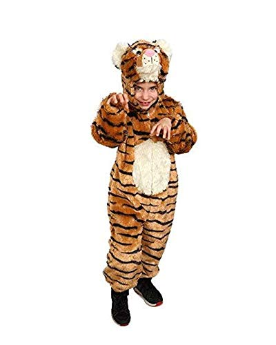 Dress Up America S Kids rayas tigre mono disfraz jugar Outfit