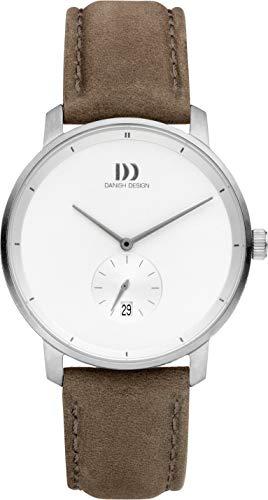 Reloj Danish de diseño analógico para hombre, color blanco – IQ14Q1279 – Donau – Cuarzo