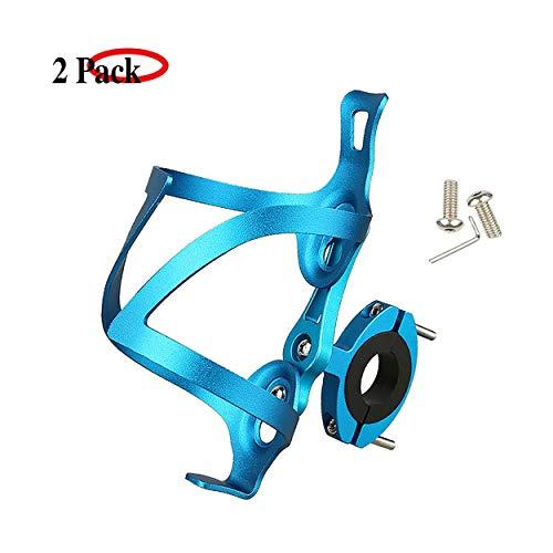 LOOZY Fahrrad Flaschenhalter Flasche Bike Getränkehalter Sicheres Rückhaltesystem,Leichter Und Starker Robuster Aluminium,aluminiumlegierung Mountainbikes, Und Rollstuhl (Color : Blau)