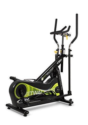 BH Fitness FITWALKING KT 2.0 G290 Bicicleta eliptica Profesional. Volante inercia 15Kg. Indoor Elliptical Bike