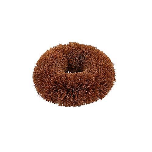 Natural Elements Coconut Scourer, Fibres, Brown, 8.5 x 9 x 3 cm