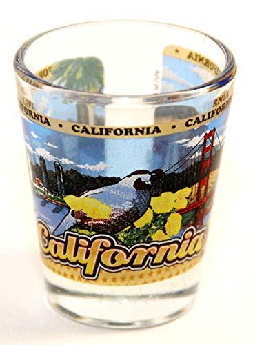 California State Wraparound Shot Glass