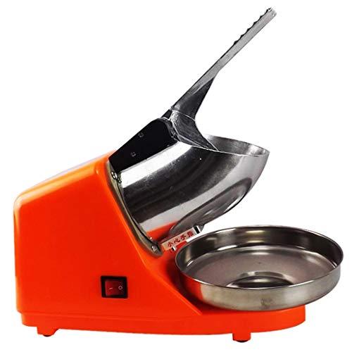JCOCO Machine automatique de Smoothie, mélangeur à glace d'acier inoxydable de la puissance 300W élevée, machine à glace, concasseur à glace de cône de neige dédié de magasin de thé