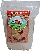 LITTLE FARMER PRODUCTS Coop-Right Chicken Coop Natural Poultry Dust Bath Nest Freshener Odor Eliminator | Redmond Clay, Diatomaceous Earth, Rosemary | 3 lb…