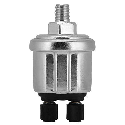 Elprico Sensor de presión de Aceite, Interruptor de presión de Aceite 1/8NPT Sensor de presión de Aceite Universal de 0 a 10 Bares para generador diésel