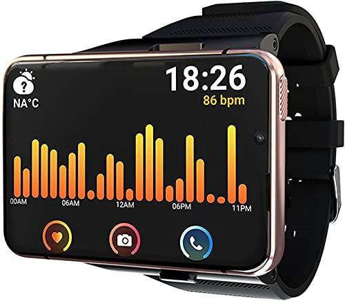 ALXLX 2.88 Pulgadas Smart Watch Wrack Watch 4gb + 64gb Doble Cámara Ejercicio Monitoreo Monitor De Ritmo Cardíaco Monitor De Mensaje Recordatorio Smart Watch Foradroid, C