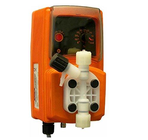 YMBERSA Bomba Dosificador Líquido (Cloro/PH + -) Volumétrica. 10 l/h a 3 Bar
