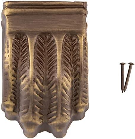 Brass leg caps _image4