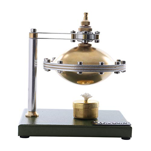 #N/A/a UFO Suspensión Steam Stirling Engine Model Kit Juguete Educativo DIY