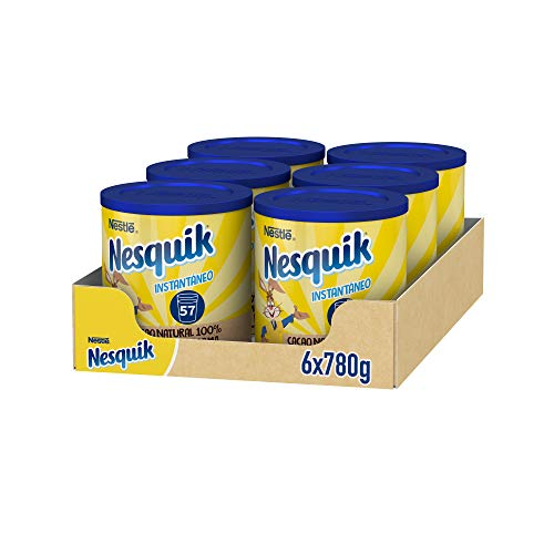 Nestlé Nesquik 780g - Pack de 6