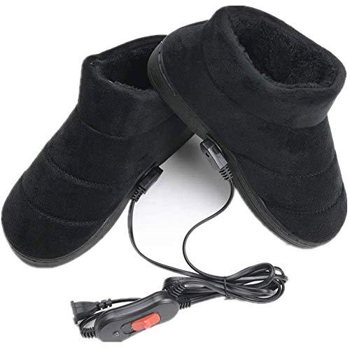 HHY-X Beheizte Hausschuhe USB Schuh Fuß Wärmer Stecker Elektrische Heizung Schuhe Füße Pad,A,39~41
