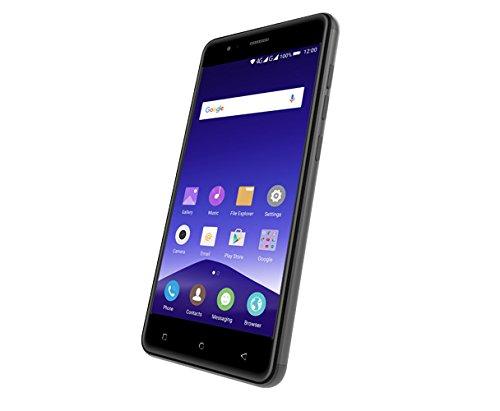 Mobistel F105-G Cynus F10 12,7 cm (5 Zoll) Smartphone (1,3 GHz QC, 16GB, DS, LTE, Android 5.0) grau