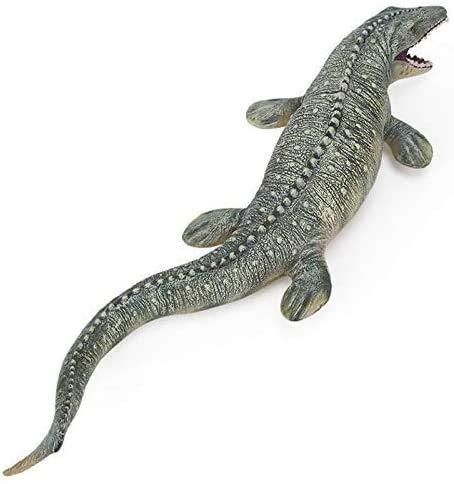 Yxsd Colección-Inicio del regalo de cumpleaños Decoración Súper colosal Mosasaurus Tyrannosaurus Rex Figura Modelo Educativo Jurásico Mundial de la figura de acción de 17 pulgadas Juguetes- de juguete