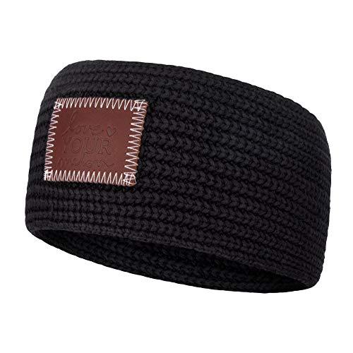 Love Your Melon Knit Headband (Black)