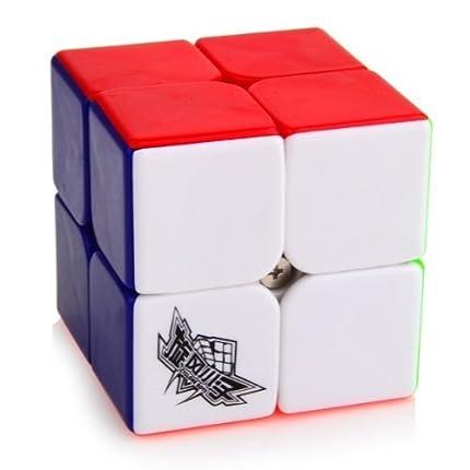 Cubo Cyclone Boys Speed de Oostifun (2x 2x 2), sin adhesivos, colorido