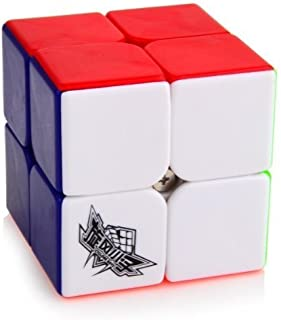 Oosti 50mm Cyclone Boys Speed cube 2x2x2 Magic Puzzle Cube Colorful Stickless