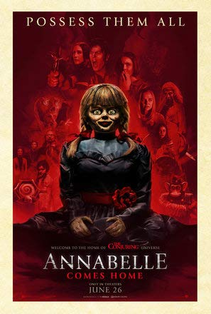 Annabelle Comes Home – US Movie Wall Poster Print - A4 Size Plakat Größe