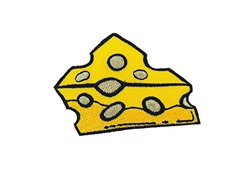 Patch Ecusson-gesticktem Wandleuchte Backpack Jacke Daunenjacke Couture Käse Gruyere