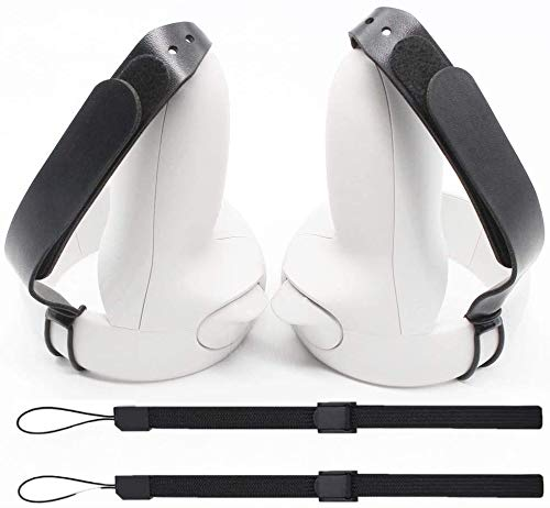 Ajustable Hand Grip Straps Accessories for Oculus Quest 2 VR Gaming Headset Controller Handle Dropping Prevention