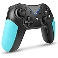 Astarry Wireless Pro Controller with Gyro Axis for Switch (Blue)