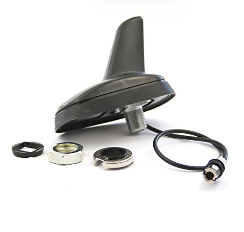 Watermark Vertriebs GmbH & Co. KG Antenne Dachantenne Shark für Audi BMW Mini Volvo V40 Roka Snap Stecker