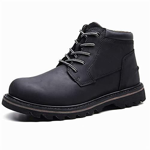 HUyouyi High Heels Uomo Sneakers hoge laarzen Uomo, Tendenza mode lederen schoenen heren winterschoenen