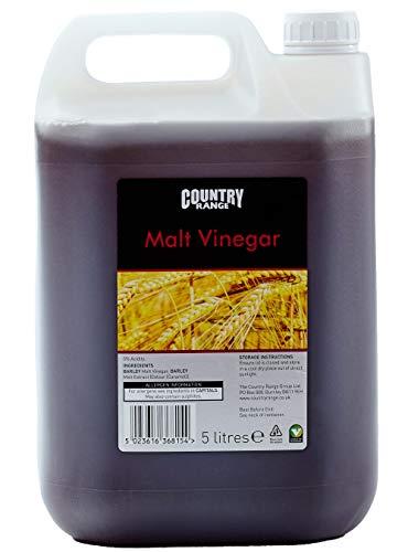 Country Range Malt Vinegar - Pack Size = 1x5ltr