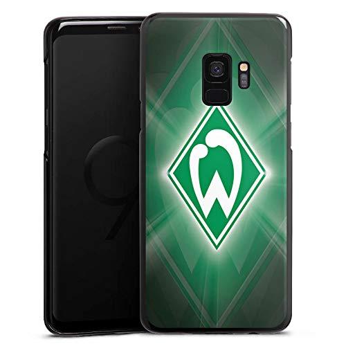 DeinDesign Hülle kompatibel mit Samsung Galaxy S9 Handyhülle Case Offizielles Lizenzprodukt SV Werder Bremen Wappen