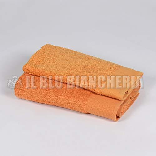 Happidea F571316301071IM207 handdoek, 100% katoen, meloen, 60 x 110