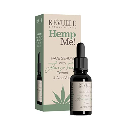 Revuele Hemp Me Organic 100% Pure Natural Skincare Face Serum with Extract...