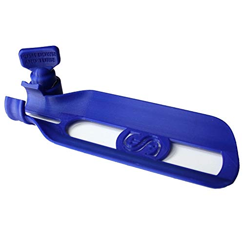 Veterinary Dental Table Mount for Non Rebreathing Circuits, Jackson Rees, SafeSigh, etc. (Royal Blue)