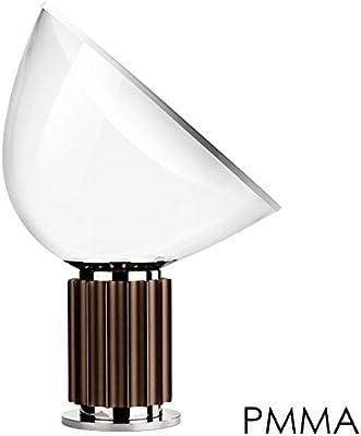 Flos Taccia PMMA lampada da tavolo bronzo