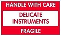 TapeCase Delicate Instruments Fragile Label - 500 per pack (1 Pack) [並行輸入品]