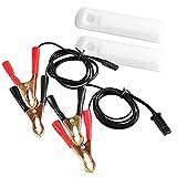 Suading Adaptador de Limpiador de Boquilla de Descarga de Inyector de Combustible Automático Herramienta de Limpieza de Bricolaje Kit Universal para Coche Conjunto Universal