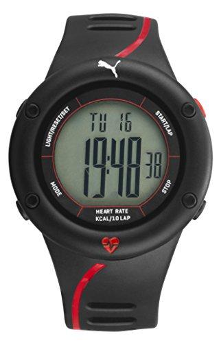 Puma Reloj Digital para Hombre de Cuarzo con Correa en Plástico PU911361002