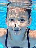 Hicarer 8 Stück Schwimmen Nase Clip Silikon Schwimmtraining Protector Plug - 3