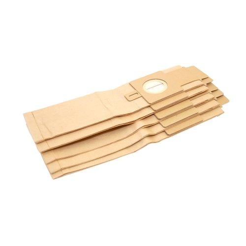 Hoover 3-lagige Papierfilterbeutel H20 mit Verschluss, 5 Stück