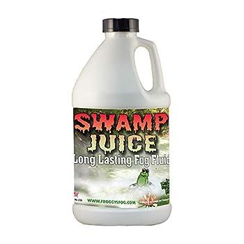 Froggys Fog - Swamp Juice  Extreme Hang Time Longest Lasting Fog Fluid   Half Gallon