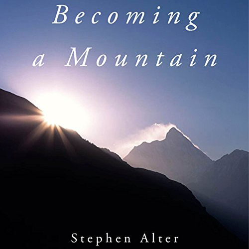 Becoming a Mountain audiobook cover art