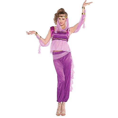 Yummy Bee -Disfraz de Jazmn para Adulto - Disfraz de Princesa de Las Noches Arabes Mujer - Talla 38 40