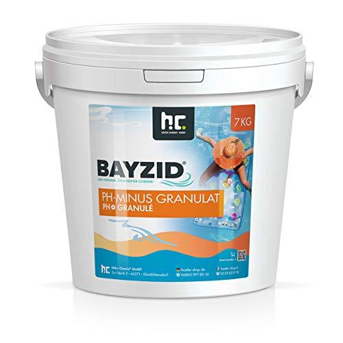 Höfer Chemie 7 kg pH Senker Granulat Senkung des pH Werts im Pool - pH Minus für Schwimmbad & Spa