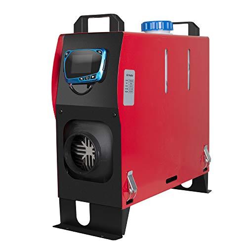 Diesel Air Heater All in One,Carejoy 12V 5KW Diesel Parking Heater with LCD Dynamic Display and Remote Control Fast Heating Diesel Heater for Truck Bus Car Van Boat Motorhomes Campervans Caravans
