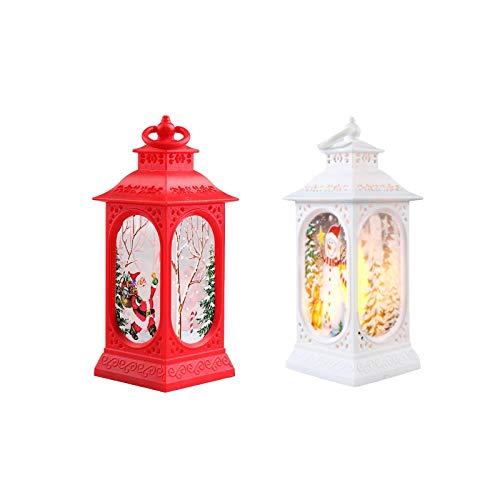 WENHAO - Decorazione natalizia, decorazione natalizia, luce notturna a LED, a forma di vento di Natale, per donne e uomini, biys e ragazze, regalo di Natale per la casa